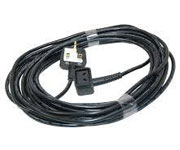 Henry   Hetty Replacement Mains Cable 12 METRE 1.0MM 2 CORE NUMATIC 2 PIN PLUG